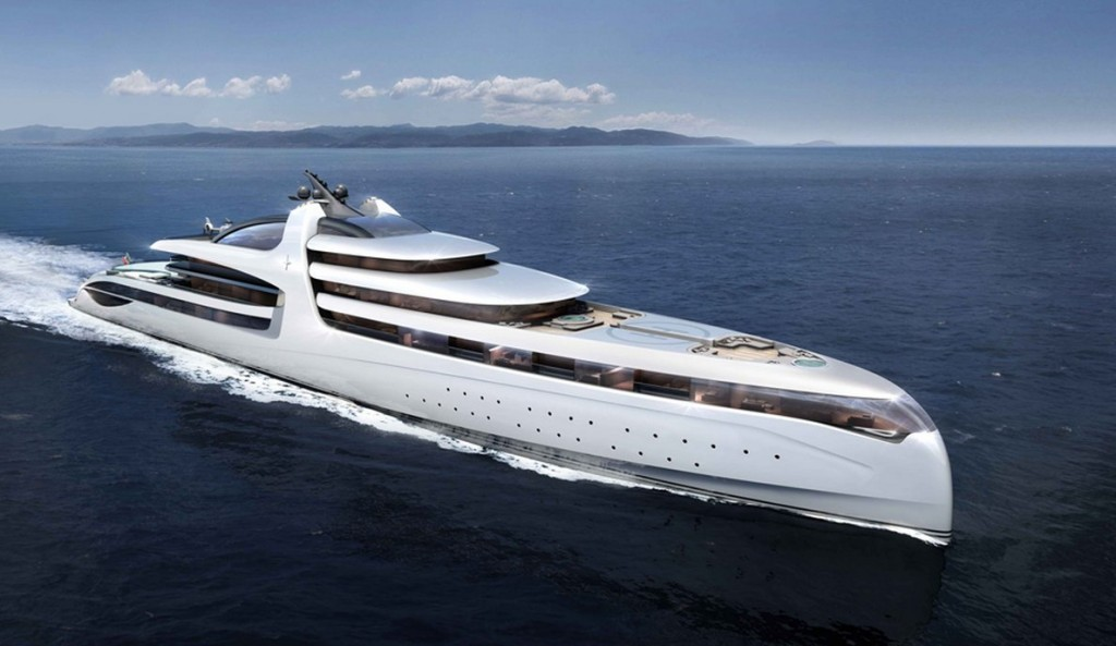 The 500 feet mega yacht soon to be revealed at quot the monaco yacht show