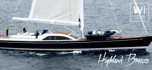 luxury yacht highland breeze windward islands