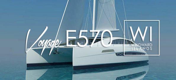 VOYAGE E570 Sailing Catamaran