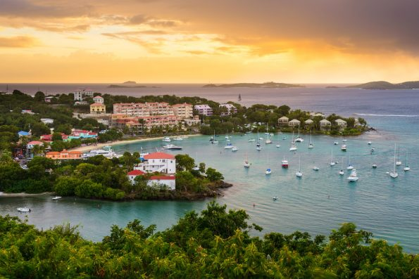 US virgin islands for luxury yacht charter