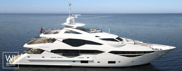 Jacosami yacht by Sunseeker International