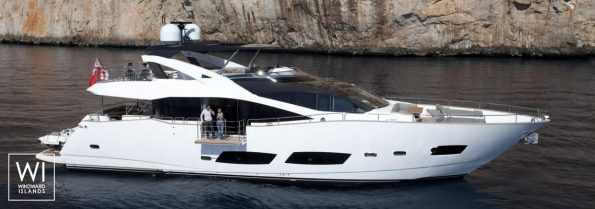 Charter Sunseeker yacht High Energy in Italy