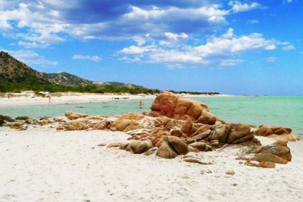 berchida beach sardinia italy