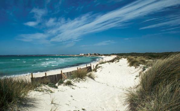 Es trenc beach, Mallorca, spain Nude beaches