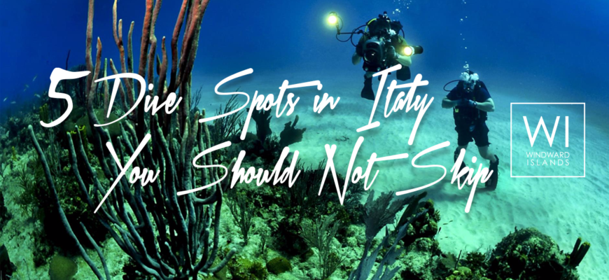 Discover the Best Dive Spots in Italy