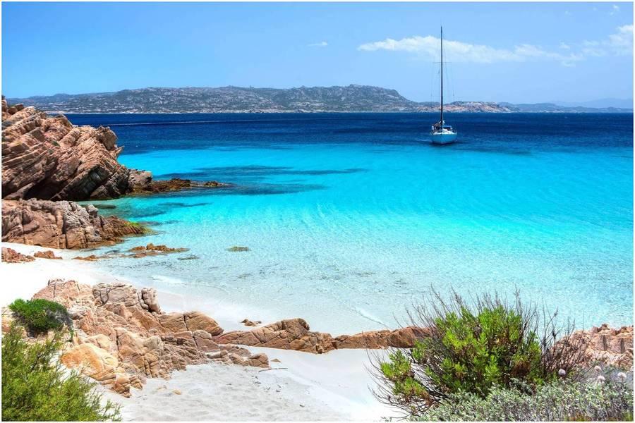 Îles de la Maddalena, Location bateau Sardaigne