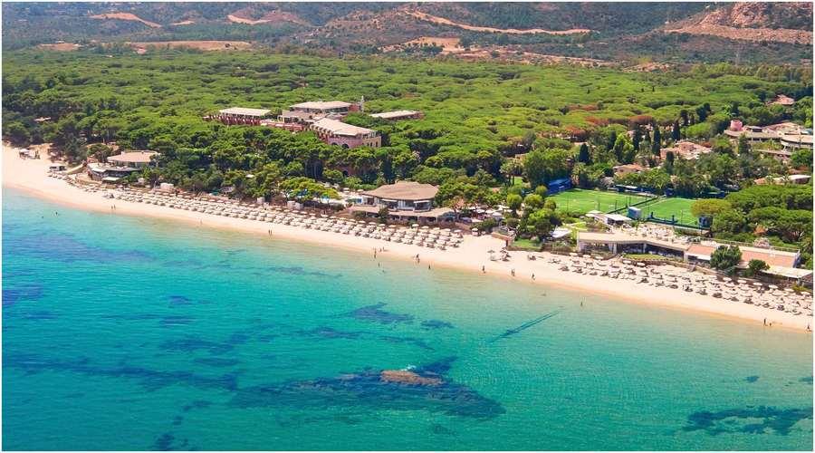 le Forte Village Resort, location bateau Sardaigne