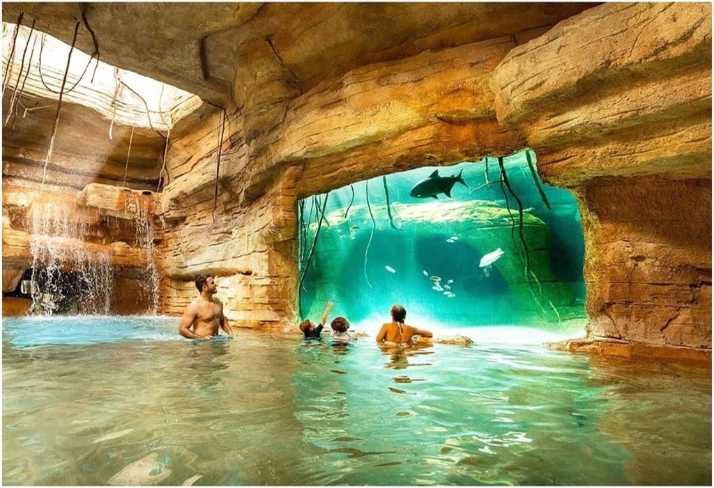 Aquaventure à Nassau, Bahamas