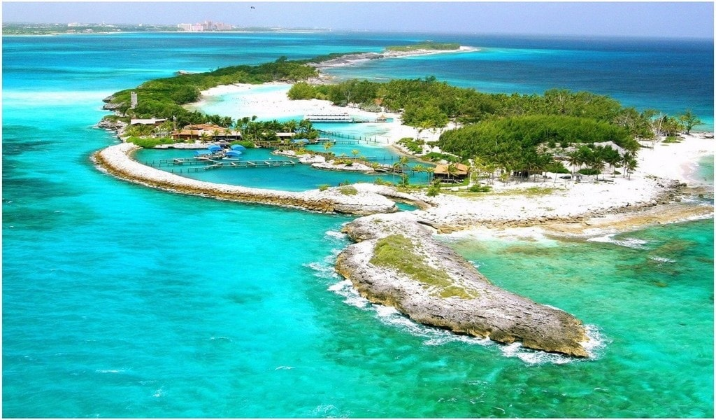Hommes Bahamas, Rencontre