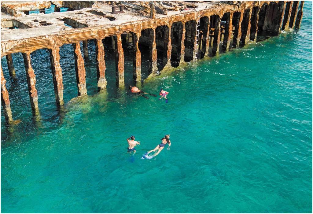 Les iles Bimini et le SS Sapona