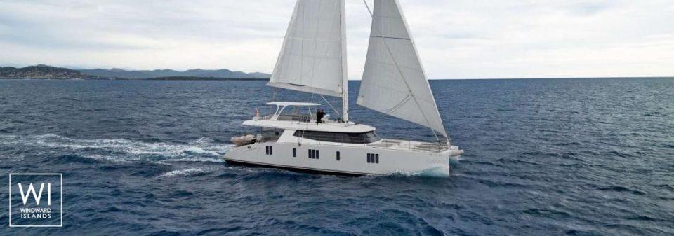 sunreef catamaran sail