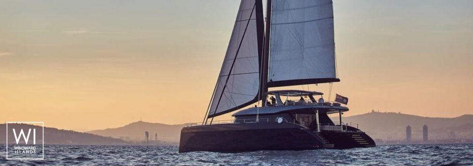 Charter Sunreef 80 catamaran in Corfu