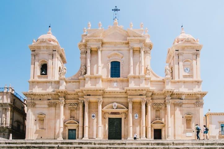 Sabrina Mazzeo Noto Cathedral  Sicily