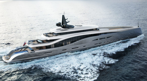 Superyacht by Oceanco