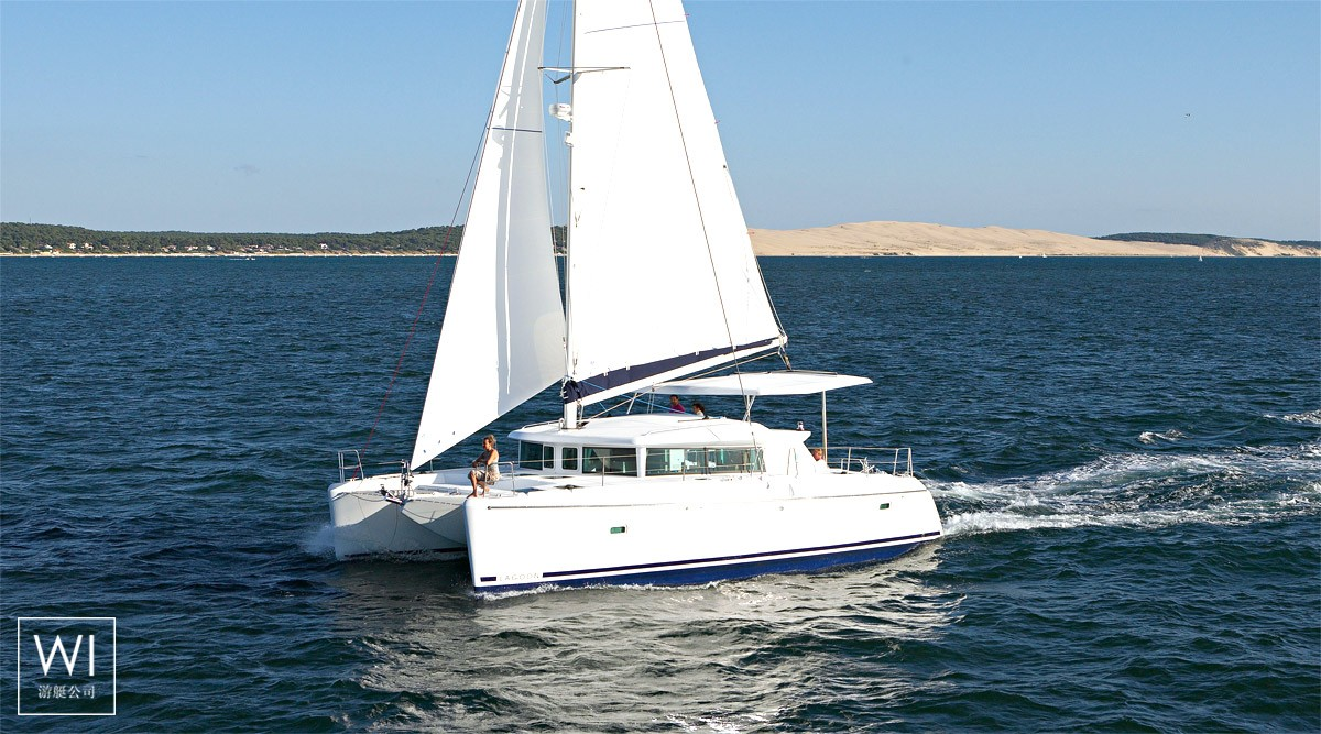 夏威夷州 - Sail 62'Sunreef Catamaran