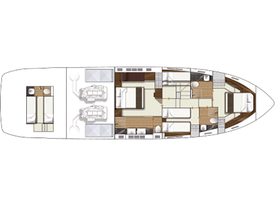 Fairline Squadron 65 Layout 1