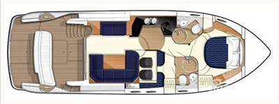 Princess-yachts Princessp 42 Layout 1