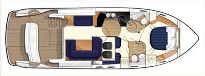 Princess-yachts Princessp 42 Layout 1