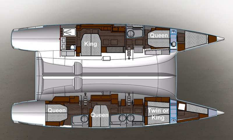 Fountaine-pajot Victoria 67 Layout 1