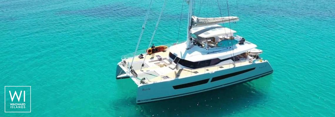 BLACK CAT  Fountaine Pajot Victoria 67' Exterior 1