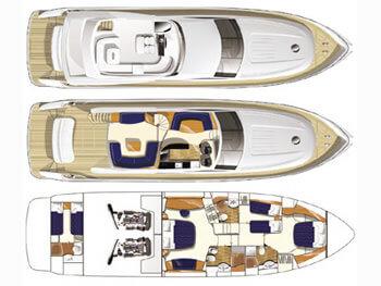 Princess-yachts Princessp 67 Layout 1