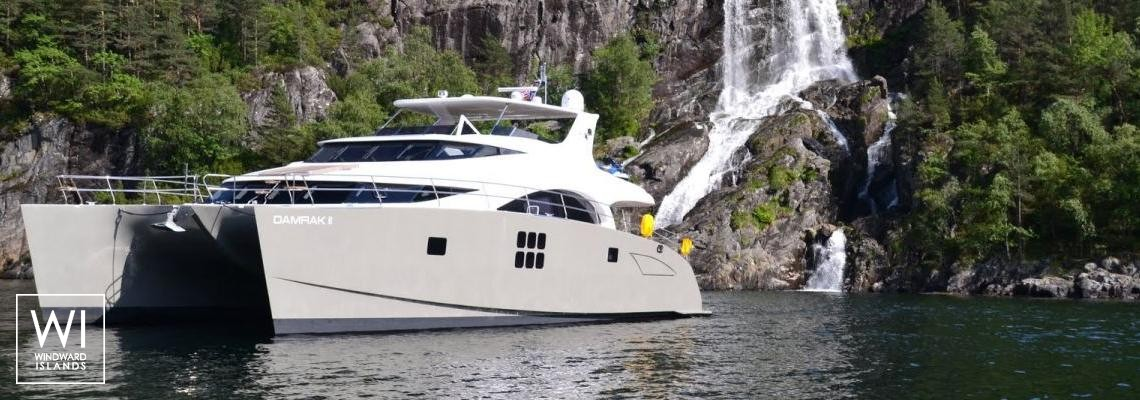 Damrak  Sunreef Catamaran Power 70' Exterior 1