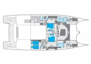 Sunreef-catamaran Power 70 Layout 2
