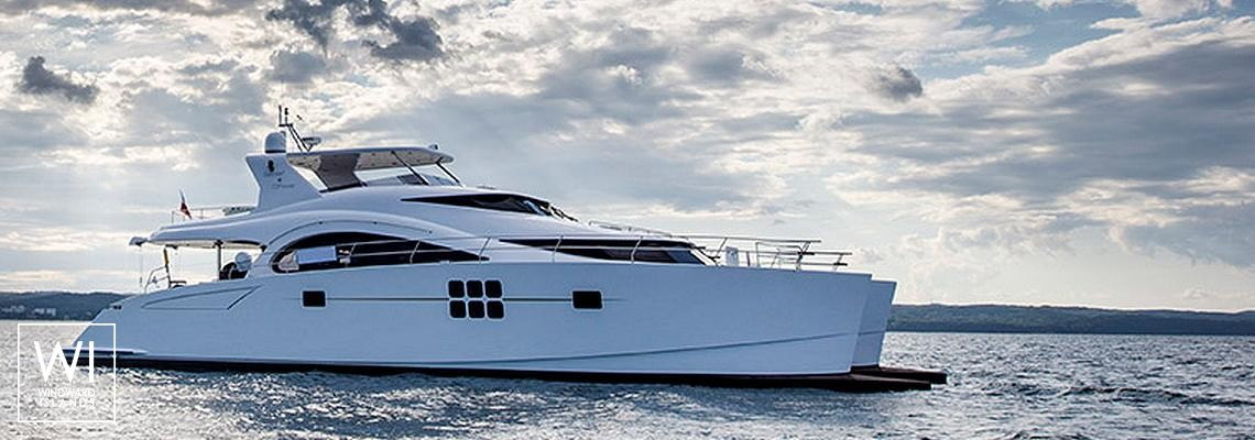 Power 70' Sunreef Catamaran Exterior 1