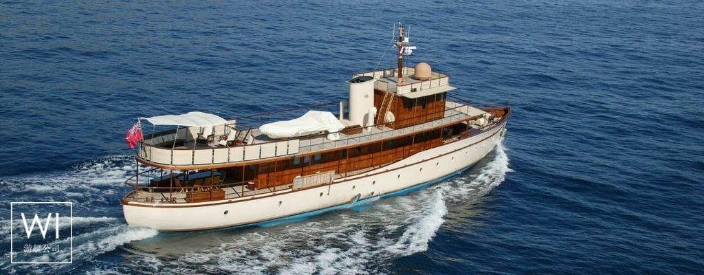 Over The Rainbow Dickie Yacht 35M Exterior 1