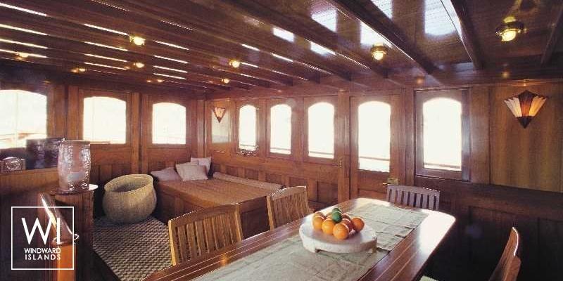 Over The Rainbow Dickie Yacht 35M Interior 1