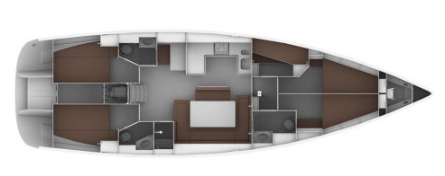 Bavaria-yachts Bavaria 50cruiser Layout 1