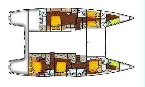 Fountaine-pajot Galathea 65 Layout 1