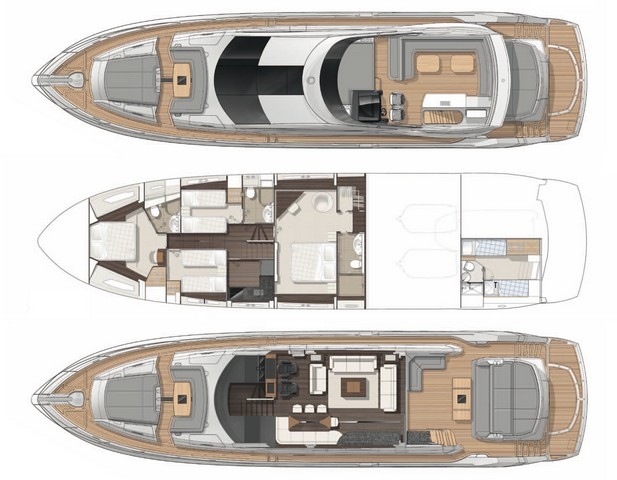 Sunseeker Yacht 80 Layout 1