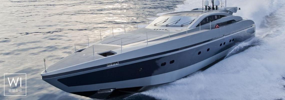 High Roller Baglietto Yacht 105'