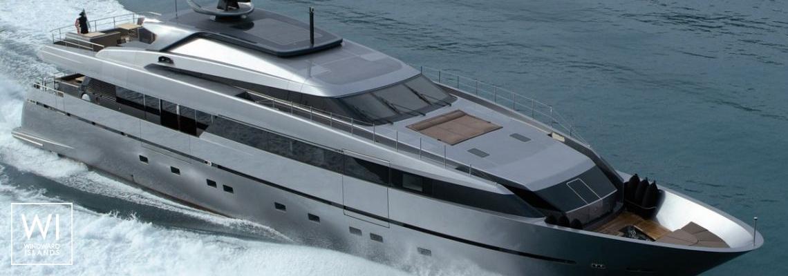 4A (ex 4H) San Lorenzo Yacht 125' Exterior 1