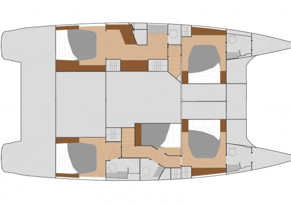 Fountaine-pajot Saba 50 Layout 1