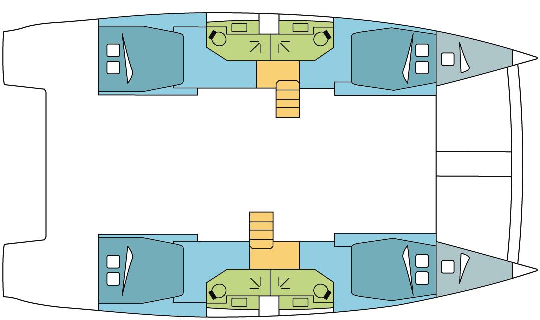 Catana-catamaran Bali 45 Layout 1