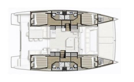 Catana-catamaran Bali 43 Layout 1