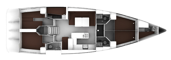 Bavaria-yachts Bavaria 56cruiser Layout 1