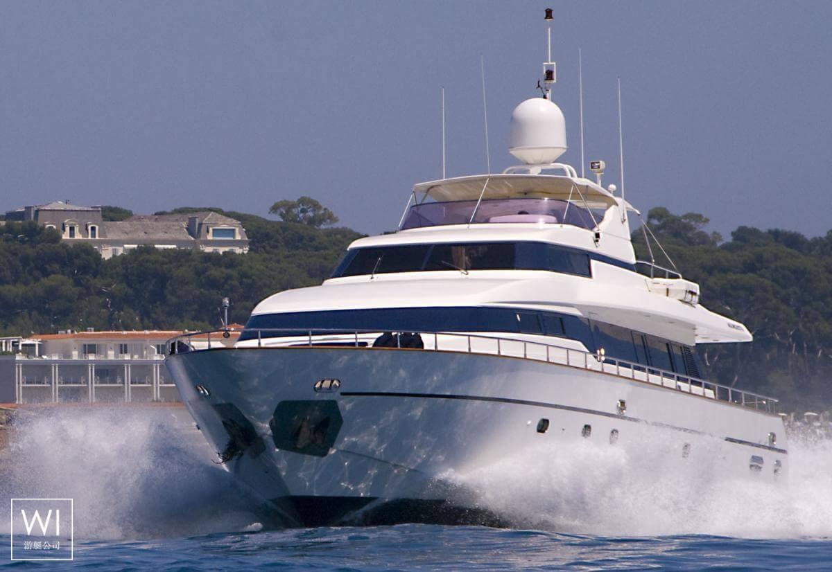 Indulgence of Poole Overmarine Mangusta 85