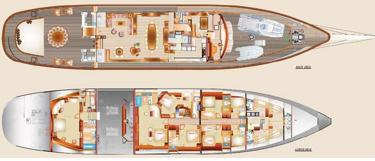 Custom Schooner 57m Layout 1