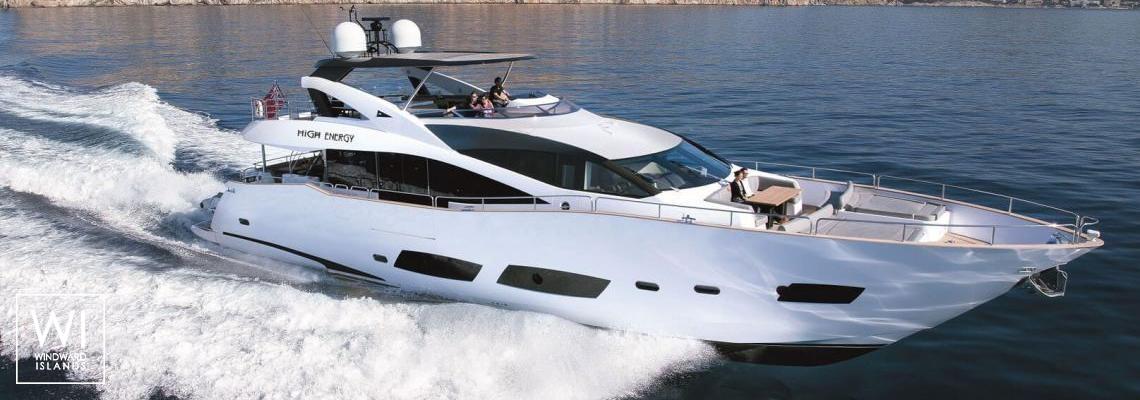 High Energy  Sunseeker Yacht 28M Exterior 0
