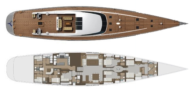Holland-jachtbouw Sloop 45m Layout 1
