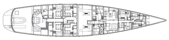 Fitzroy-yachts Sloop 50m Layout 1