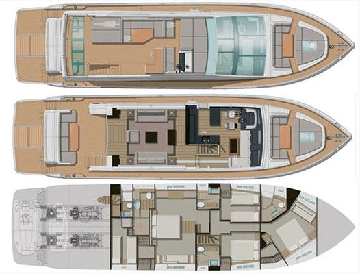 Pearl-yacht Pearl 75 Layout 1