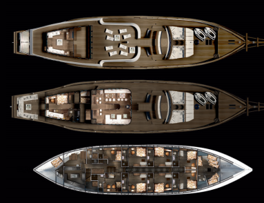 Custom Schooner Phinisi53m Layout 1
