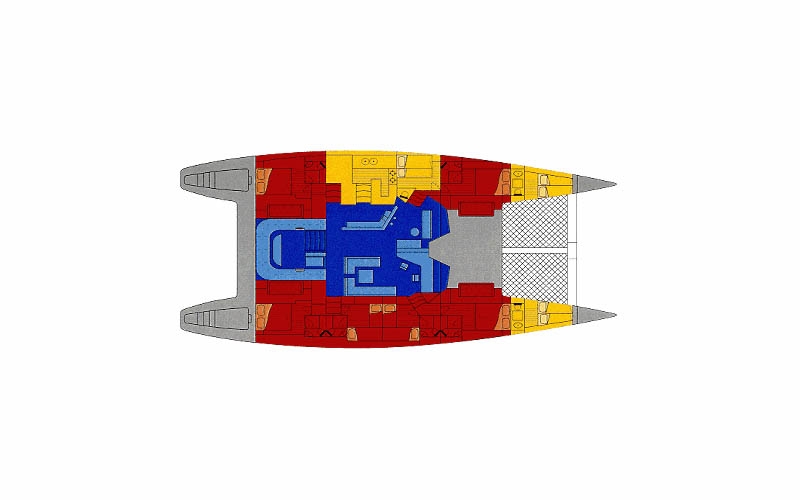 Custom Catamaran 85 Layout 1
