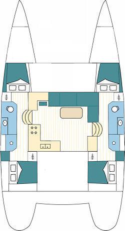 Lagoon-catamaran Lagoon 39 Layout 1