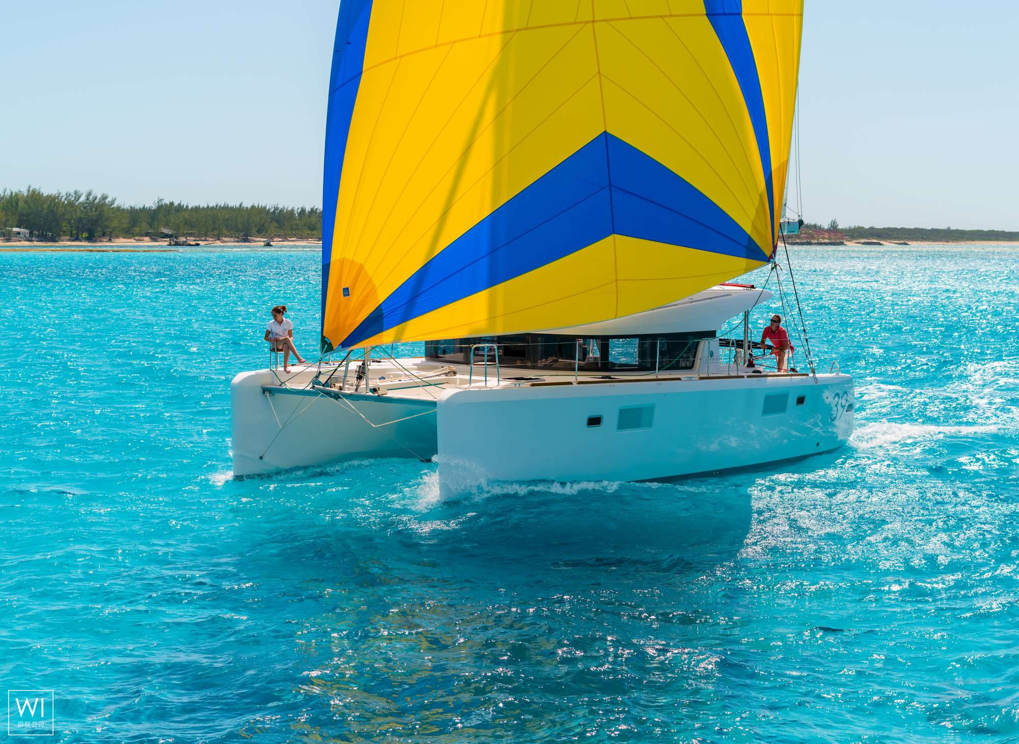 Lagoon 39 catamaran for charter