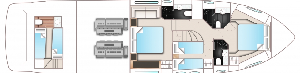 Princess-yachts Princessp 60 Layout 1
